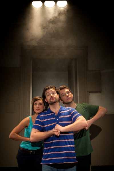 Sophia Ragavelas, Simon Bailey and Scott Garnham  Photo