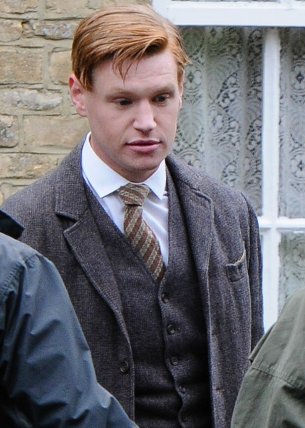 Photo Flash: First Look - Maggie Smith & More on Set of DOWNTON ABBEY - Season 4
