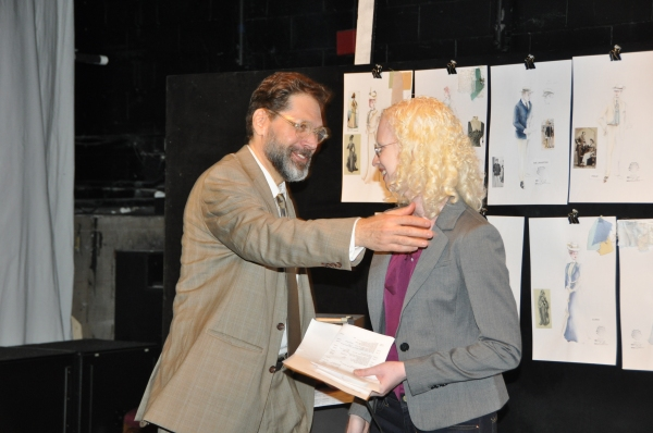 David Staller (Gingold Theatrical Group) and Kate Farrington ( Interim Artistic Director Pearl Theatre Company)