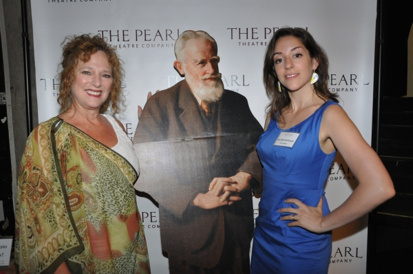 Robin Leslie Brown (Founder Pearl Theatre Acting Company) and Jessi Blue Gormezano