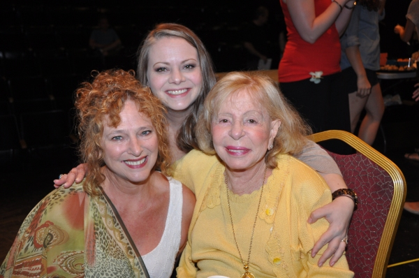 Robin Leslie Brown, Cori Gardner (Gingold Theatrical Group General Manager) and Anita Jaffe (Gingold Theatrical Group Board of Directors)