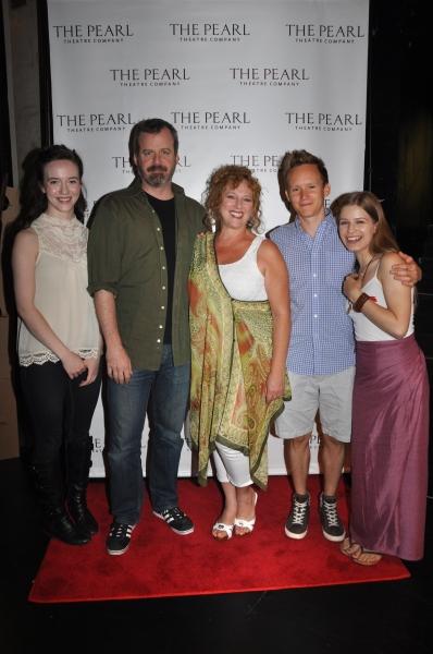 Amelia Pedlow, Bradford Cover, Robin Leslie Brown, Ben Charles and Emma Winiewski Photo