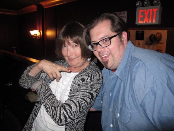 Lynne Taylor Corbett and Josh Iacovelli Photo