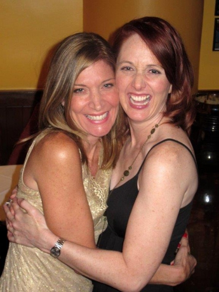 Original Cougar Catherine Porter and Current Cougar Mary Mossberg Photo