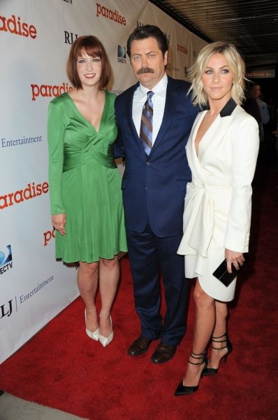 Diablo Cody, Nick Offerman, Julianne Hough