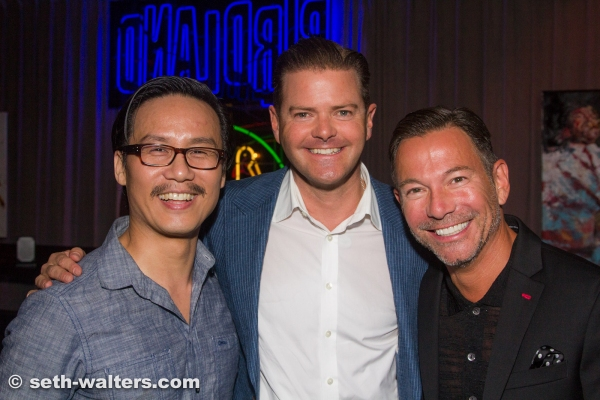 B.D. Wong, Clarke Thorell and Cortes Alexander Photo
