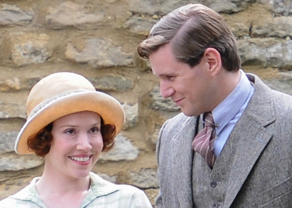 Daisy Lewis and Allen Leech
