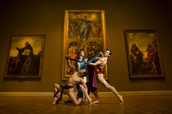 Hubbard Street Dancers, from left: Kevin J. Shannon, Alice Klock and Garrett Patrick Anderson