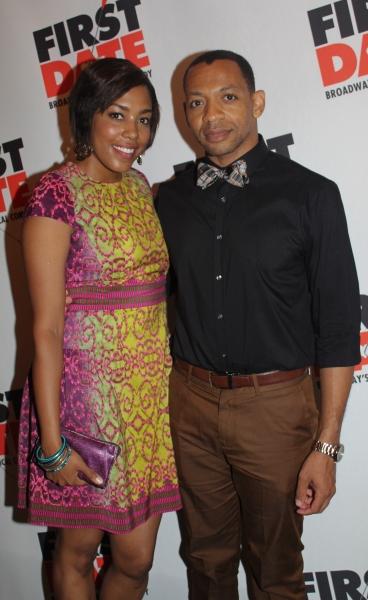 De'Adre Aziza and Derrick Baskin