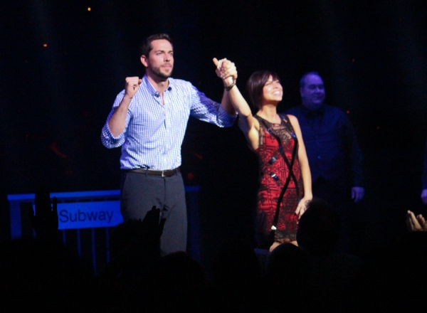 Photo Coverage: FIRST DATE Opening Night Curtain Call