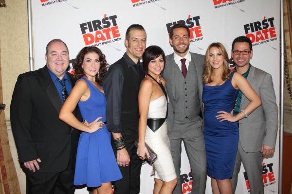 Blake Hammond, Kate Loprest, Bryce Ryness, Krista Rodriguez, Zachary Levi, Sara Chase and Kristoffer Cusick