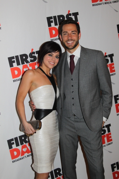 Krista Rodriguez and Zachary Levi