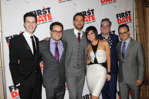Alan Zachary, Austin Winsburg, Zachary Levi, Krista Rodriguez, Bill Berry and Michael Weiner