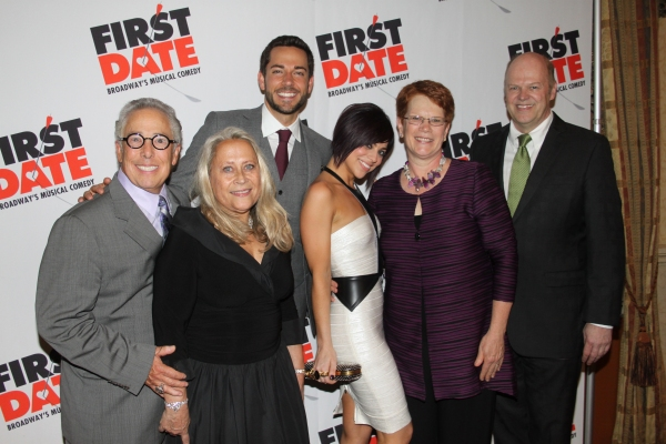 Kenny Alhadeff, Marleen Alhadeff, Zachary Levi, Krista Rodriguez, Sue Frost and Randy Adams