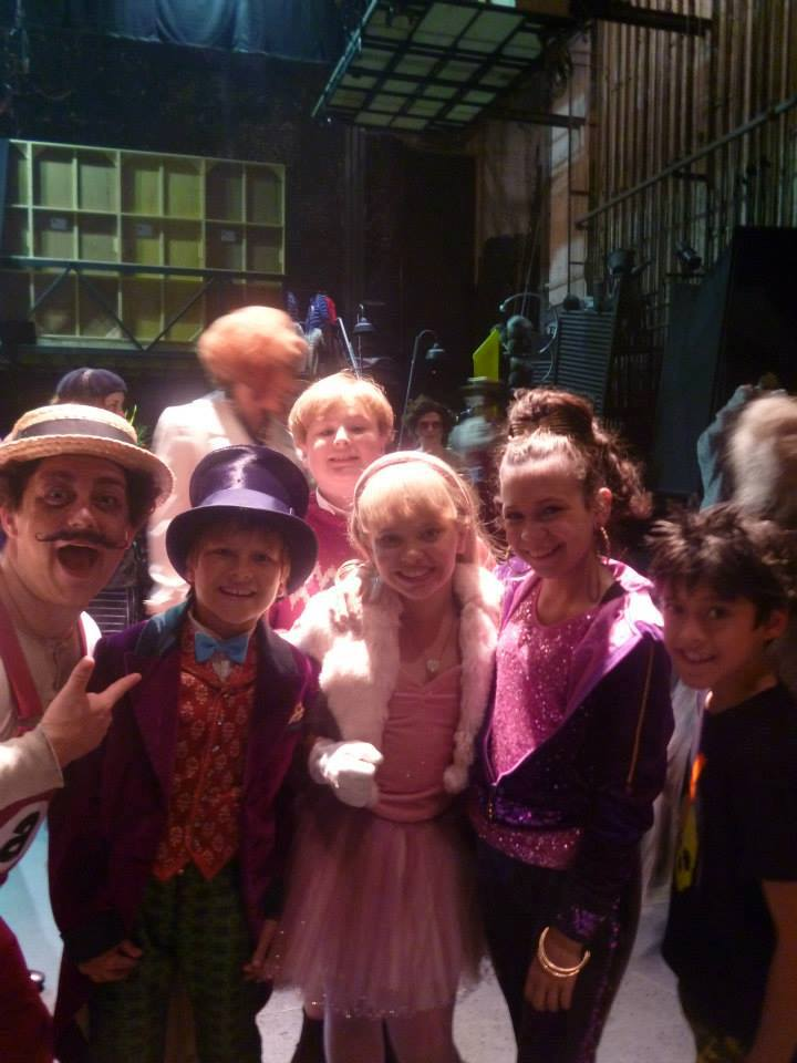 Backstage At CHARLIE & THE CHOCOLATE FACTORY