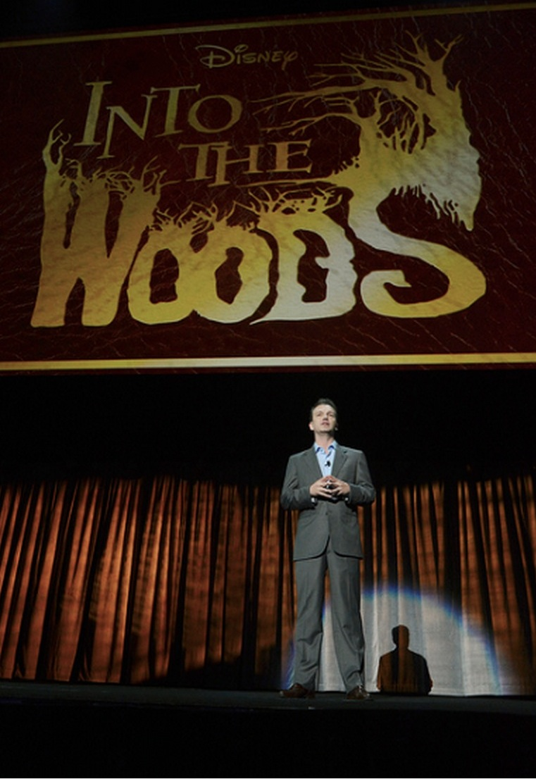 Disney Takes D23-Goers INTO THE WOODS, Reveals Logo for Upcoming Film!