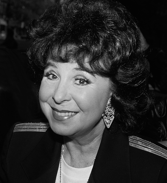 Eydie Gorme pictured at an event in New York in 1990.