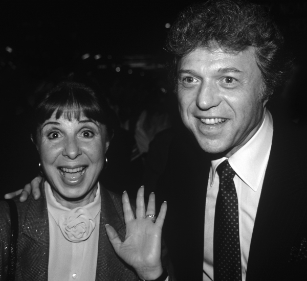 Steve Lawrence and Eydie Gorme attending a performance of ''Dreamgirls'' at the Imper Photo