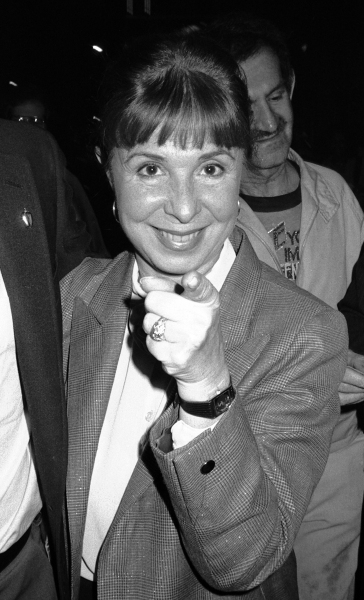 Eydie Gorme attending a performance of ''Dreamgirls'' at the Imperial Theatre in New York City on June 1, 1984.