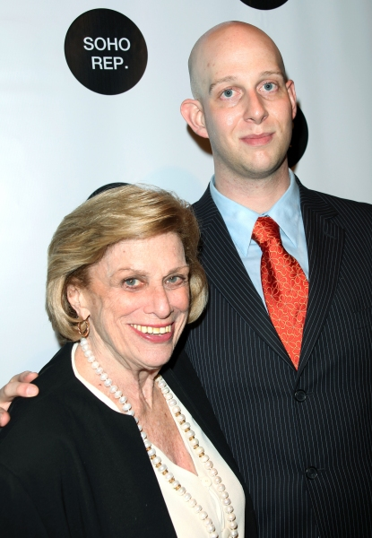 Shirley Herz & Dale Heller (PR) attending The SOHO Rep Spring Gala at the PARK in New York City. May 4, 2009