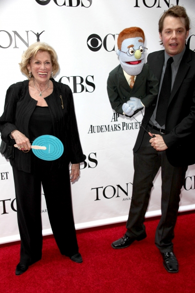 Shirley Herz arriving at the 63rd Annual Antoinette Perry Tony Awards at Radio City Music Hall in New York City on June 7, 2009.