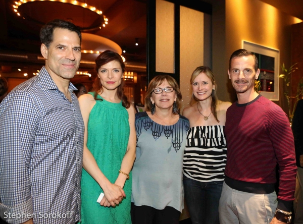 Christopher Innvar, Gretchen Egolf, Julianne Boyd, Rebecca Brooksher , Mark H. Dold Photo