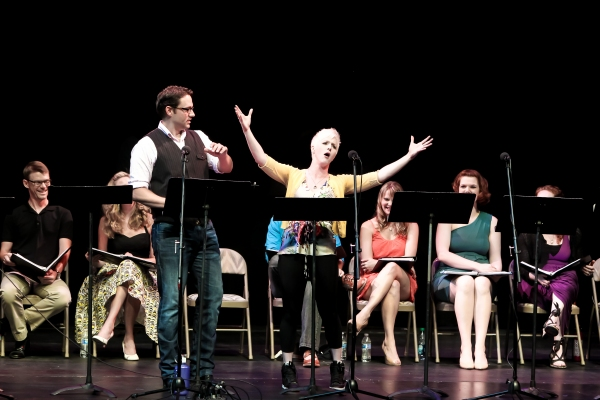 Dane Stokinger, Taryn Darr and the Cast of The Noteworthy Life of Howard Barnes