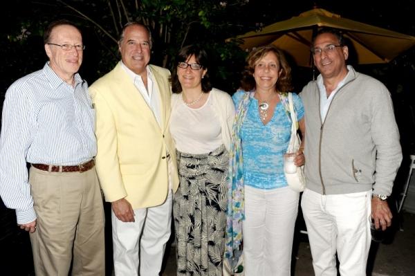 Elie Hirschfeld, Stewart Lane, and Sarah Hirschfeld, Marcia Riklis, Michael Kessler