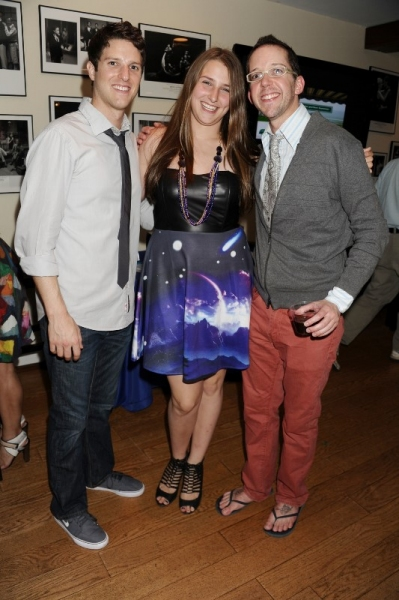 Nick Verina (Hero), Leah Lane, and Tom Deckman