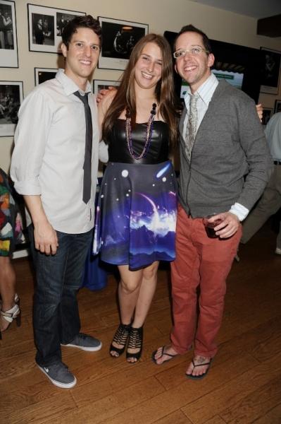 Nick Verina (Hero), Leah Lane, and Tom Deckman Photo