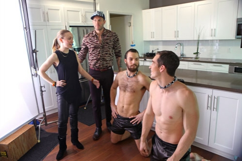 Sarah Silver, Johnny Wujek, Phil and Jeremy