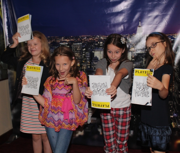 Milly Shapiro, Sophia Gennusa, Bailey Ryon and Oona Laurence