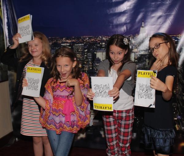Milly Shapiro, Sophia Gennusa, Bailey Ryon and Oona Laurence