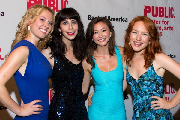 Patti Murin, Audrey Lynn Weston, Kimiko Glenn, Maria Thayer Photo