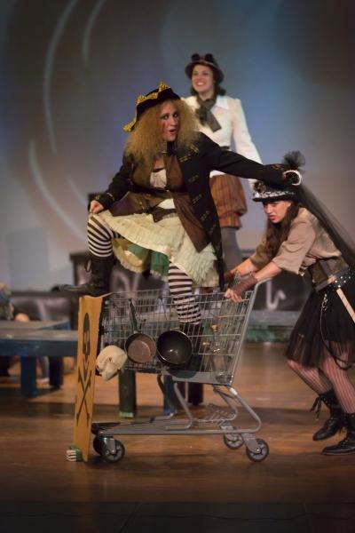 Caitlyn Joy as Captain Hook