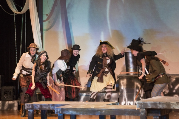 Peter Pan, Caitlyn Joy as Captain Hook and the Pirates