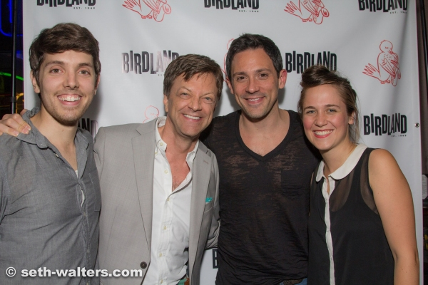 Anthony Taddeo, Jim Caruso, Steve Kazee and Lora Faye