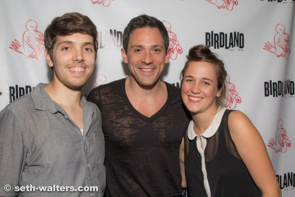 Anthony Taddeo, Steve Kazee and Lora Faye