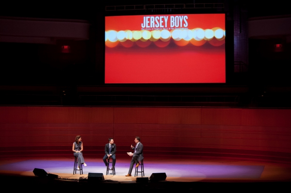 JERSEY BOYS interview with Lauren Decierdo, Courter Simmons