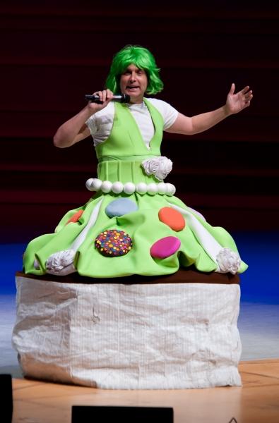 Bob Bucci in PRISCILLA Cupcake Costume