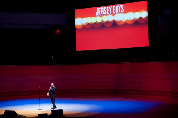 Courter Simmons of JERSEY BOYS