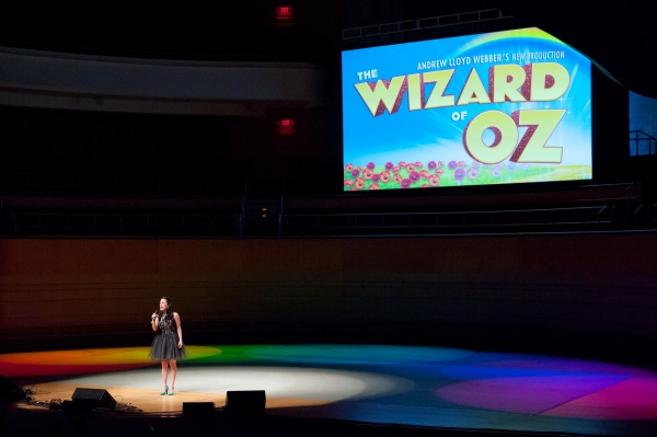 Julia McLellan sings ''Over the Rainbow'' from THE WIZARD OF OZ