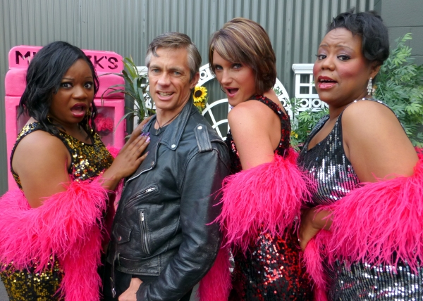 Orin gets the girls to say ''Ah'' as he sings ''I Am A Dentist.'' From left: Elizabeth Adabale, Randy Brown, Amanda Majkrzak, Brittney S. Wheeler