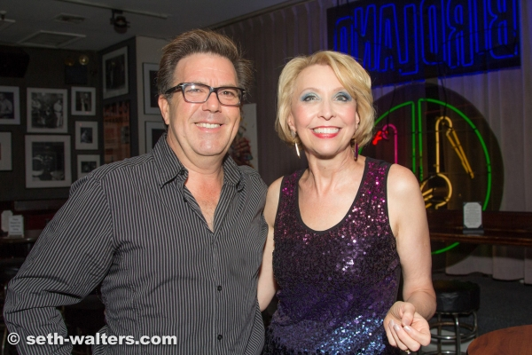 Kevin Meaney and Julie Halston