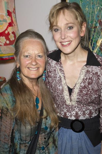 Anna Carteret and Hattie Morahan