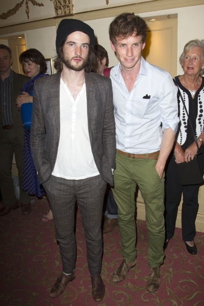 Tom Sturridge and Eddie Redmayne