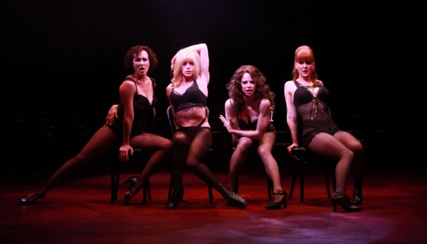 Christine Bokhour (Liz), Kathryn Mowat Murphy (Hunyak), Leslie Stevens (June) and Evelyn Christina Tonn (Annie)