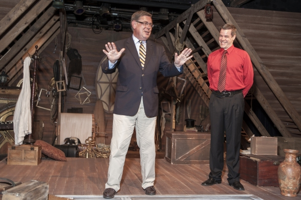 Senator Seward and Cortland Repertory Theatre''s Producing Artistic Director Kerby Thompson