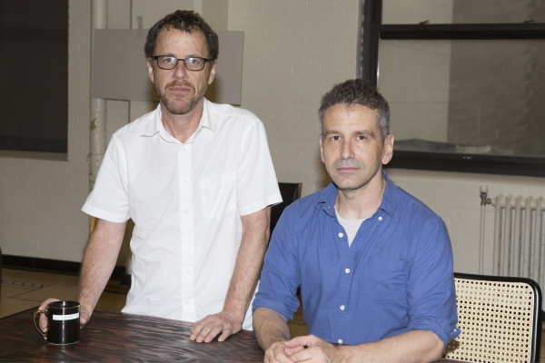 Playwright Ethan Coen and Director David Cromer Photo
