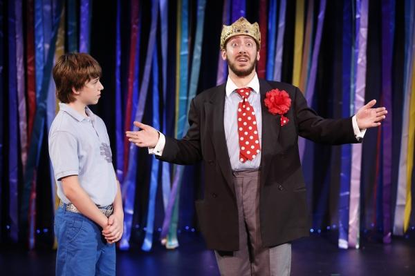 Timmy (Cormac Cullinane) and King Edward (Jason Pintar) share a moment.